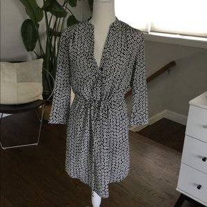 DVF silk dress size 4